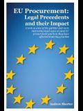 Eu Procurement: Legal Precedents and Their Impact