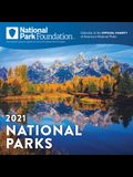 2021 National Park Foundation Wall Calendar