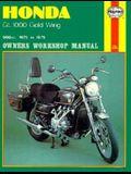 Honda Gl1000 Gold Wing Owners Workshop Manual, No. M309: 1975-1979