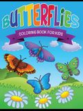 Butterflies Coloring Book for Kids