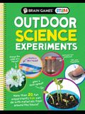 Brain Games Stem - Outdoor Science Experiments: More Than 20 Fun Experiments Kids Can Do with Materials from Around the House