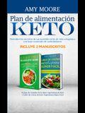 Plan de alimentación Keto Incluye 2 Manuscritos El plan de comidas de la dieta vegetariana de Keto + Libro de cocina de Keto Vegetariano Súper Fácil: