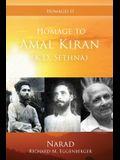 Homage to Amal Kiran (K.D. Sethna)