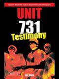 Unit 731 - Testimony