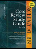 NCLEX/Cat-RN Core Review Study Guide [With Core Review Handbook of Medications for the Ncl... and Disk]