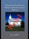Things You Should Know Before & After Becoming a Minister