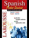 Larousse Pocket Student Dictionary: Spanish-English / English-Spanish