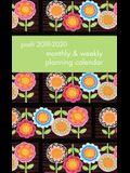 Posh: Flower Power 2019-2020 Monthly/Weekly Planning Calendar