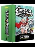 The Captain Underpants Colossal Color Collection (Captain Underpants #1-5 Boxed Set)