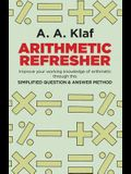 Arithmetic Refresher: Improve your working knowledge of arithmetic