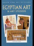 Egyptian Art: 16 Art Stickers
