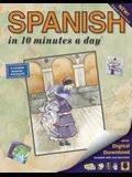 Spanish in 10 Minutes a Day: Language Course for Beginning and Advanced Study. Includes Workbook, Flash Cards, Sticky Labels, Menu Guide, Software,