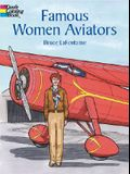 Famous Women Aviators Coloring Book