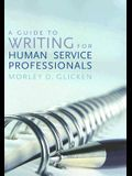 Guide to Writing for Human Service PB