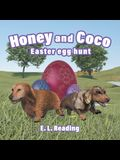 Honey and Coco: Easter egg hunt