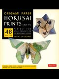 Origami Paper - Hokusai Prints - Large 8 1/4 - 48 Sheets: Tuttle Origami Paper: High-Quality Double-Sided Origami Sheets Printed with 8 Different Des