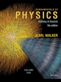 Fundamentals of Physics, Volume 1 (Chapters 1 - 20) - Standalone book