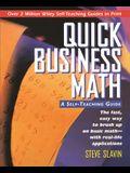Quick Business Math: A Self-Teaching Guide