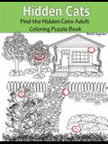 Hidden Cats: Find the Hidden Cats Adult Coloring Puzzle Book