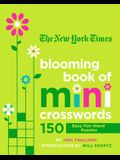 The New York Times Blooming Book of Mini Crosswords: 150 Easy Fun-Sized Puzzles