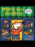 Maisy Goes Shopping: Complete with Durable Play Scene: A Fold-Out and Play Book