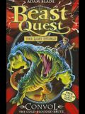 Beast Quest: 37: Convol the Cold-Blooded Brute [With 4 Collector Cards]