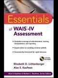 Essentials of WAIS-IV Assessment [With CDROM]