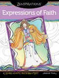 Zenspirations Coloring Book Expressions of Faith: Create, Color, Pattern, Play!