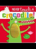 Never Touch a Crocodile!