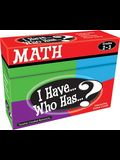 I Have... Who Has...? Math Interactive Game Cards, Grades 2-3
