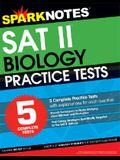 5 Practice Tests for the SAT II Biology (SparkNotes Test Prep)