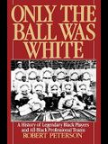 Only the Ball Was White: A History of Legendary Black Players and All-Black Professional Teams