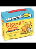 Biscuit: More 12-Book Phonics Fun!: Includes 12 Mini-Books Featuring Short and Long Vowel Sounds
