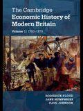 The Cambridge Economic History of Modern Britain 2 Volume Paperback Set