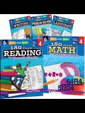 180 Days of Fourth Grade Practice, 5-Book Set