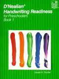 D'Nealian Handwriting Readiness for Preschoolers, Book 1