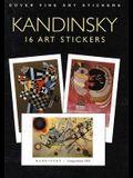 Kandinsky: 16 Art Stickers