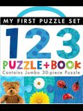 123 Puzzle and Book [With Puzzle]