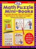 22 Math Puzzle Mini-Books (Grades 3-6)
