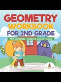 Geometry Workbook for 2nd Grade - Math Workbooks - Children's Geometry Books