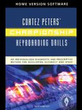 Championship Keyboarding Drills Home Version Software W/ User's Guide