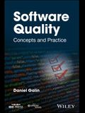 Software Quality: Concepts and Practice