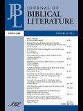 Journal of Biblical Literature, Spring 2008