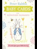Peter Rabbit Baby Cards for Milestone Moments: 30 Cards for Your Little Bunny