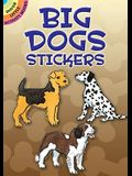 Big Dogs Stickers (Dover Little Activity Books Stickers)