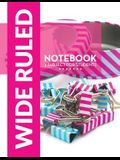 Wide Ruled Notebook - 3 Subject For Students
