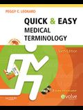 Quick & Easy Medical Terminology [With 2 CDs]