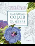 The Royal Botanic Gardens, Kew: Wonderful Flowers Color-By-Numbers: Over 40 Beautiful Images