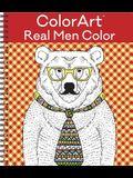 Colorart Coloring Book - Real Men Color