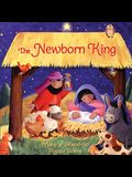 The Newborn King: Storybook with Puzzle Scene